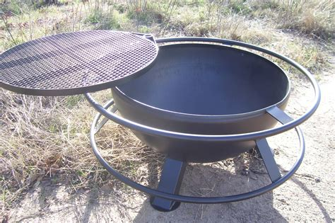 Unique Fire Pit With Grill Top Heavy Duty Fire Pits Tx Firepit Top