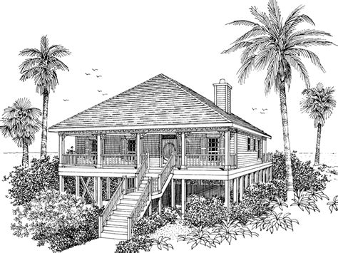 beach cabin plans collier cove beach cottage home plan 024d 0003 house
