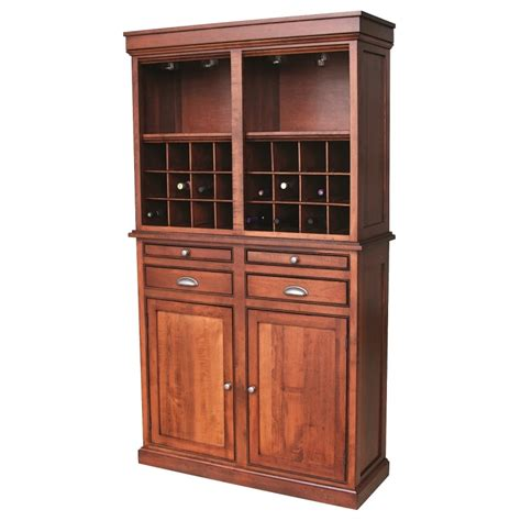 Wine Hutch Furniture wine hutch amish wine hutch country furniture