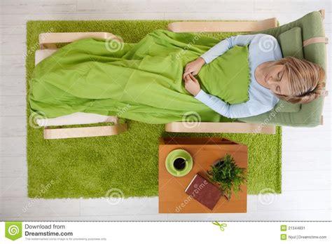sleeping armchair woman sleeping in armchair stock image image of adult