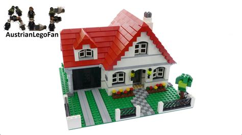lego creator 4956 house lego speed build review