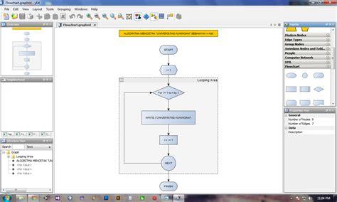 flowchart untuk membuat kalkulator sederhana blog andijoe software gratis untuk membuat flowchart