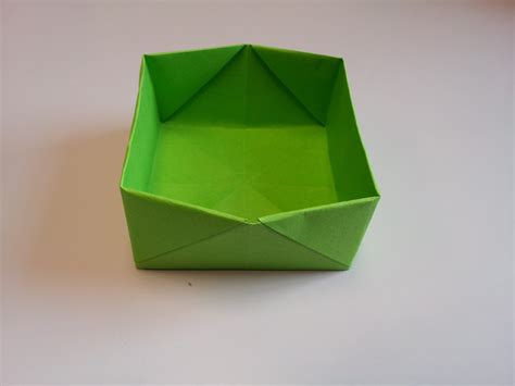 Origami Containers - how to make origami boxes