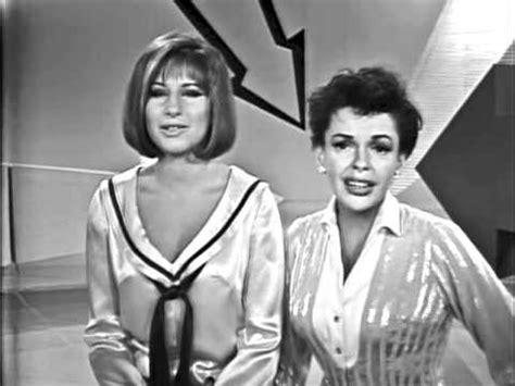 barbra streisand on judy garland happy days are here again get happy judy garland