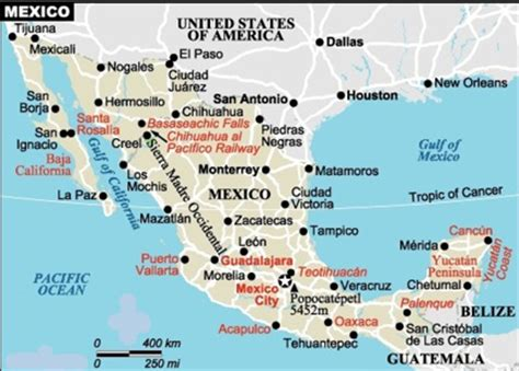 map of western mexico exploring yacht vacation destinations and itinararies