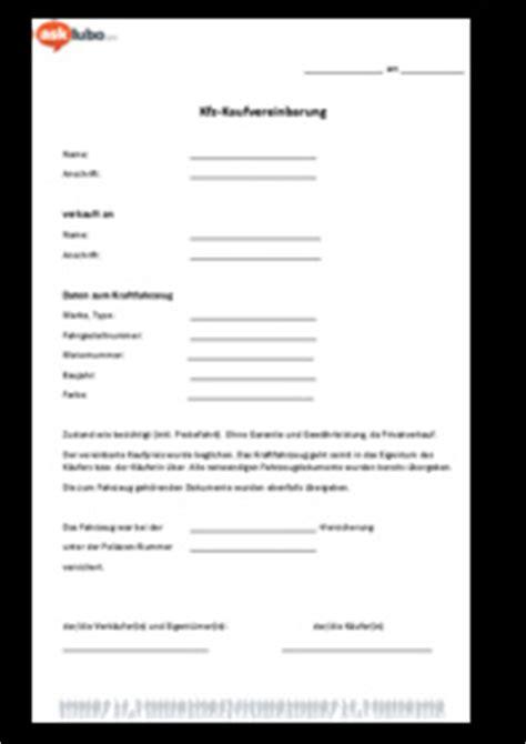 Kaufvertrag Motorrad Kfz Auskunft by Kfz Kaufvertrag Hier Als Muster Zum Download Asklubo