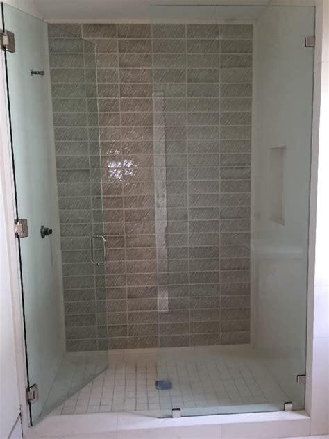 Half Glass Shower Door Half Shower Door Contour Corner Access Wf White Half Height Shower Doors Screens With Half