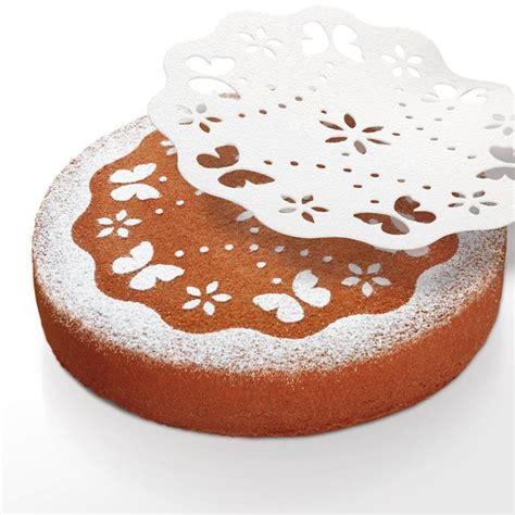 fiori decorativi per torte 630676 dischi decorativi per torte linea delicia tescoma