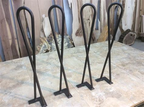 27 inch legs hairpin legs twist hairpin legs end