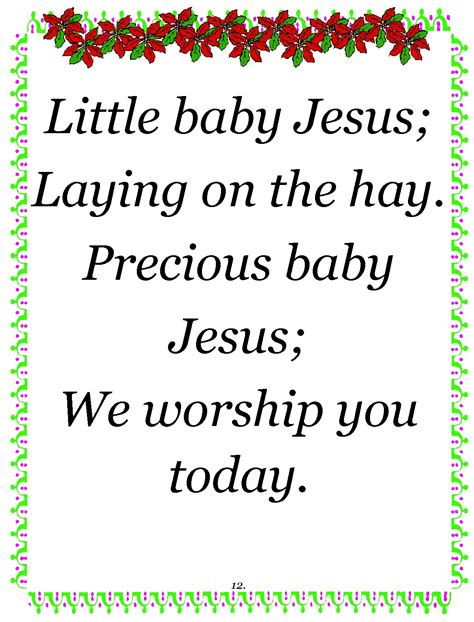 jesus poem rubies in my treasure box baby jesus 2012
