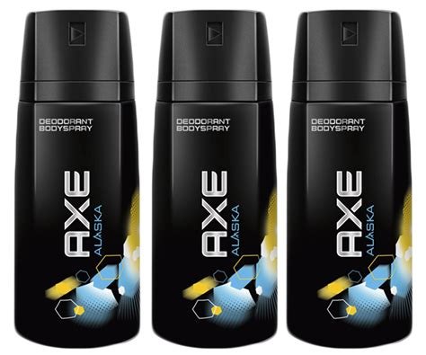Parfum Axe 150 Ml 3 pack axe alaska scent clean deodorant bodyspray