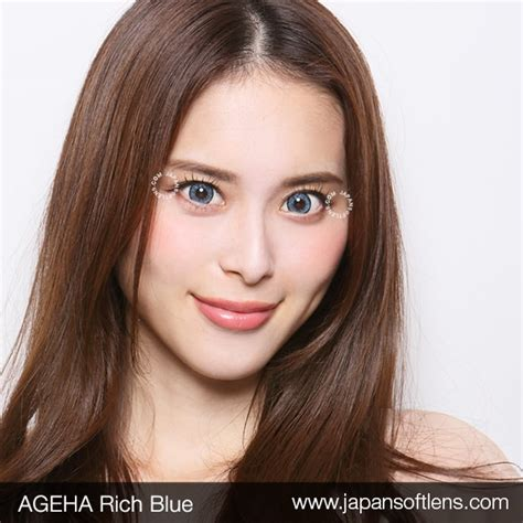 Softlens Gel Ageha Soft Lens Gel Ageha Dia 15mm Water 55 Korea Terl softlens blue ageha rich blue japan softlens