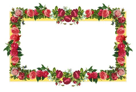 images of borders 10 2 flowers borders png images
