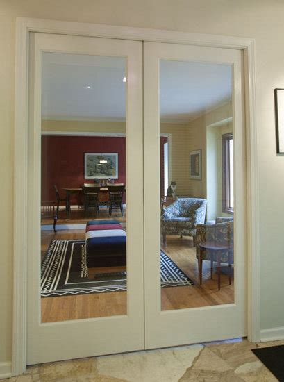 Interior Glass Pocket Doors Riden House Architect