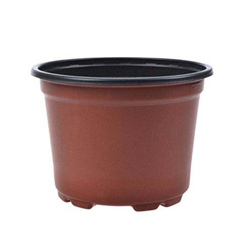Thin Plant Pots Coolrunner 3 5 Inch Plastic Flower Seedlings Nursery Pot