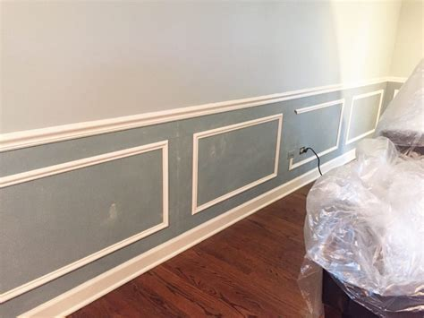 Painting Wainscoting by Wainscoting Reveal The Cofran Home