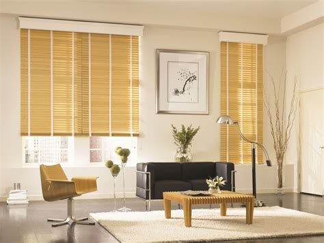 graber traditions 2 quot wood blinds modern living room