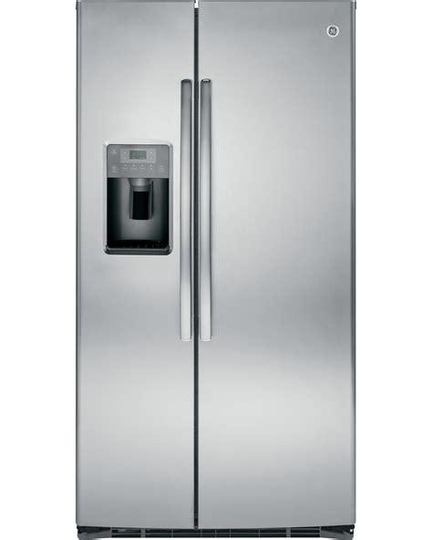 Philadelphia Floor Store Ge Credit by Ge 25 Cu Ft Side By Side Refrigerator Stainless Steel