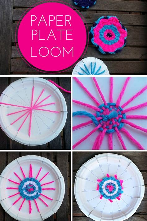 crafts out of paper plates best 25 paper plate crafts ideas on