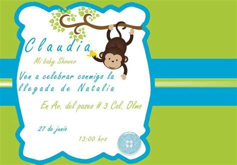 invitaciones baby shower baby