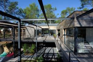 architecture une superbe contemporaine de bois