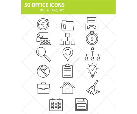 eps format office office icons for your website icon format eps