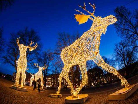 Golf Statues Home Decorating Darkness Begone Lights Ward Off Nordic Winter Blues The
