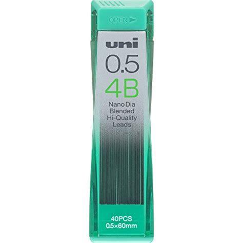 Uni Nanodia Pencil Lead 0 7 Mm 2b uni nanodia low wear pencil lead 0 3 mm 2b mine per