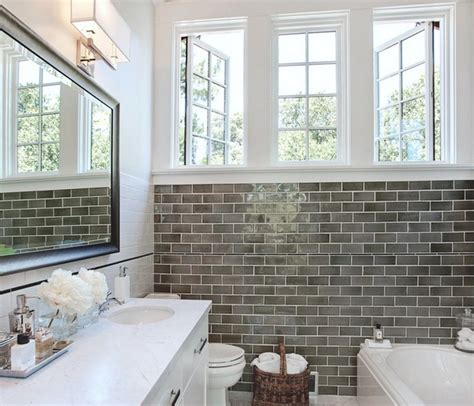 bathroom subway tile subway tile variations in bath studio design gallery best design