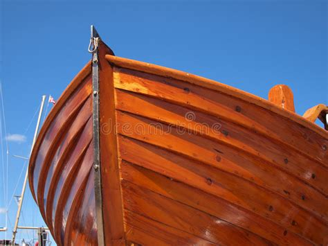 prow of a wooden boat stock image image of relaxation - Prow Of A Boat