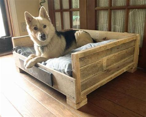 dog bed made out of pallets pallet made dog beds and houses pallet ideas recycled