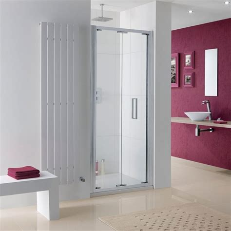 Lakes Coastline Bergen Bi Fold Shower Door 700mm 8hb070 05 Lakes Shower Doors