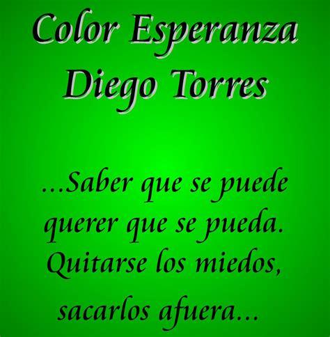 diego torres color esperanza color esperanza diego torres el mundo de inma