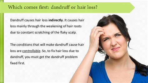 Do Hair Dryers Cause Dandruff does dandruff cause hair loss