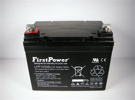 cycle battery for trolling motor firstpower 12v 33ah for light trolling motor battery