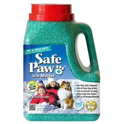 does home depot allow dogs safe paw 8 lb pet and child friendly melt green seal of approval 100 salt free