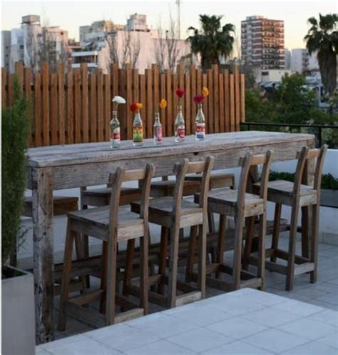 Patio backyards and reclaimed wood bars on pinterest
