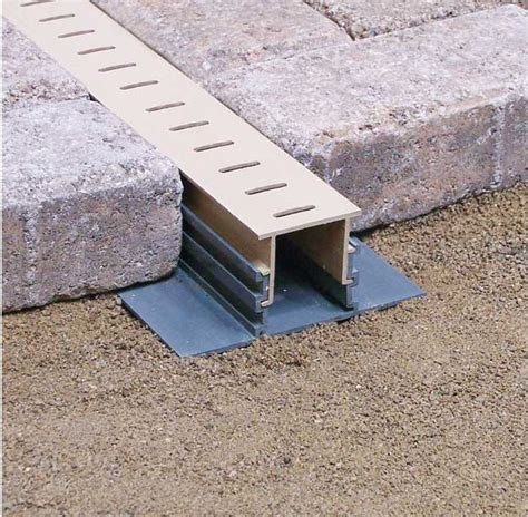 paver patio drainage stegmeier llc manufacturer info page pool drain and