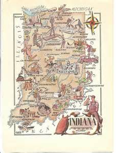 us map book united states map indiana book print by the1957retrostore