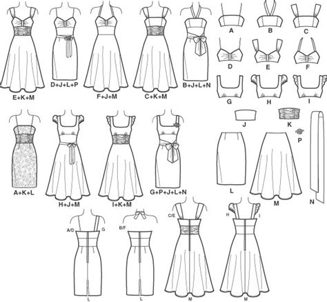 pattern making gown new look 6699 will be the pattern you never quit using it