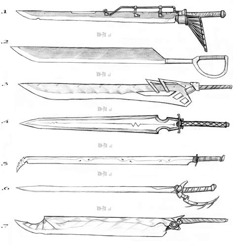 design a zanpakuto game sword designs 3 by iron fox on deviantart