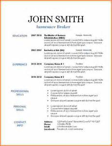 resume template in html format - Resume In Html Format