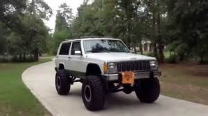 Jeep Xj 8 Inch Lift Jeep Xj Tour With 8in Lift Rolling On 35s