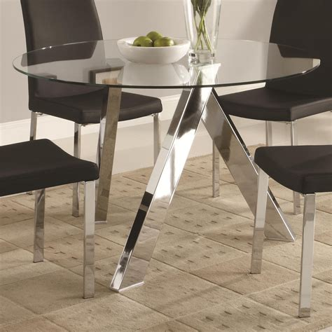 black table base for glass top dining table bases for glass tops homesfeed