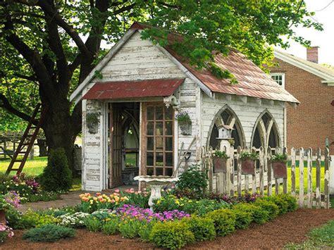 homemade garden bench cottage garden sheds garden shed