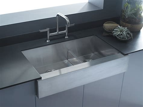 kohler vault smart divide sink k 3945 vault smart divide mount large medium