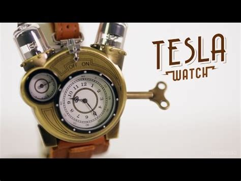 elon musk watch tesla watch with steunk aesthetic has nothing to do