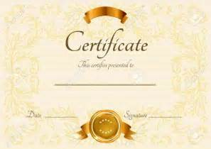 Blank Certificate Of Completion Template by Blank Certificate Of Completion Template Certificate234