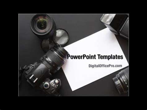 free photography powerpoint 30709 sagefox powerpoint digital photo camera powerpoint template backgrounds