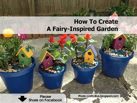 how to create a fairy inspired garden